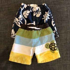 Toddler Swim Trunks, Size 12-18mo